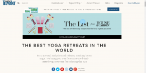 best yoga retreats, luxury yoga retreats, vegetarian holidays