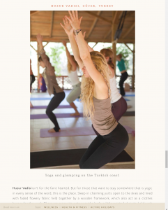 best yoga retreats, suleyman's garden, luxury yoga retreats