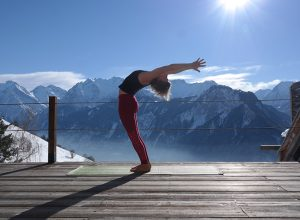 vegan retreat europe, snow yoga, best yoga holidays